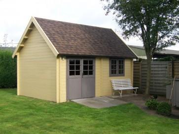 Moderne blokhut cottage Imoda