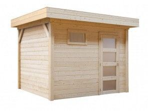 Topvision Korhoen 351x231 (moderne blokhut met plat dak)