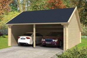 Tuindeco blokhut garage-kapschuur Nysse sfeer
