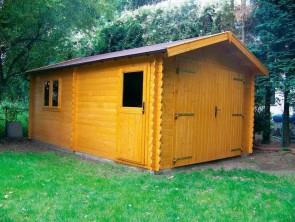 Moderne blokhut garage Classic 335