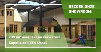 Blokhut en Overkapping showroom