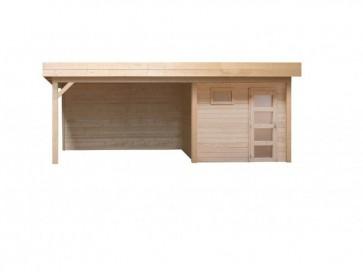 Topvision Kievit 739x331 (Modern tuinhuis met plat dak)