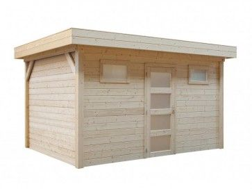 Topvision Kievit 451x331 (modern tuinhuis plat dak)