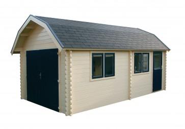 Moderne houten garage Capelle aan den IJssel