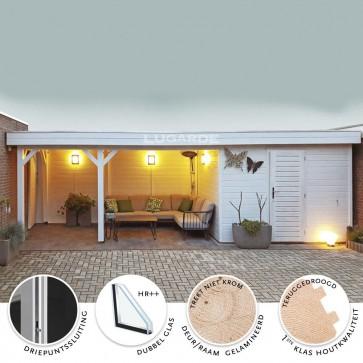 Tuinhuis + luifel Lugarde Prima PR47