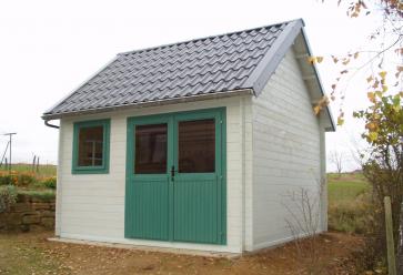 Moderne blokhut Cottage Perdita