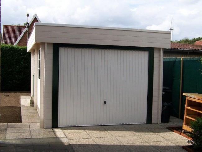 Houten Garage Kopen : Moderne houten garage type cosmos voordelig kopen