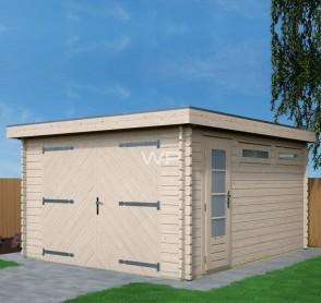 Woodpro blokhut garage 26455