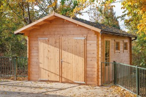 Blokhut garage Geir Tuindeco