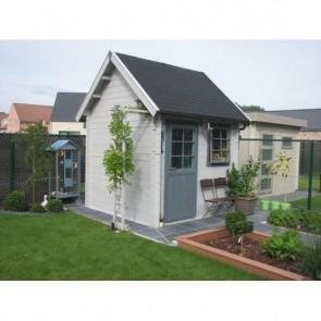 Moderne blokhut Valentina Cottage