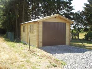 Moderne houten garage Classic 545