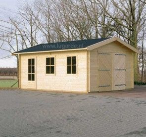 Houten garage Westervoort