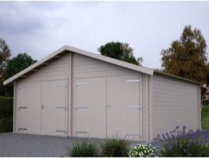 Blokhut garage Isma Biancasa