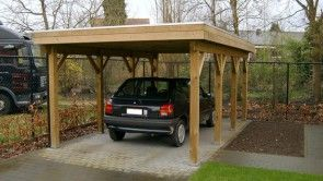 flexwood carport platdak raar