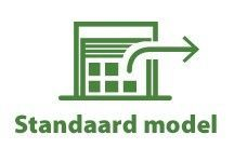Standaard model tuinhuis